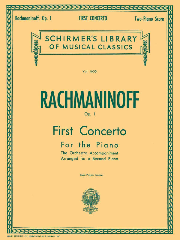 First Concerto for the Piano in F# Minor, Op. 1