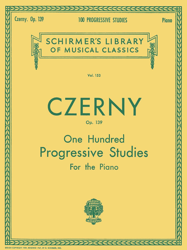 100 Progressive Studies without Octaves, Op. 139