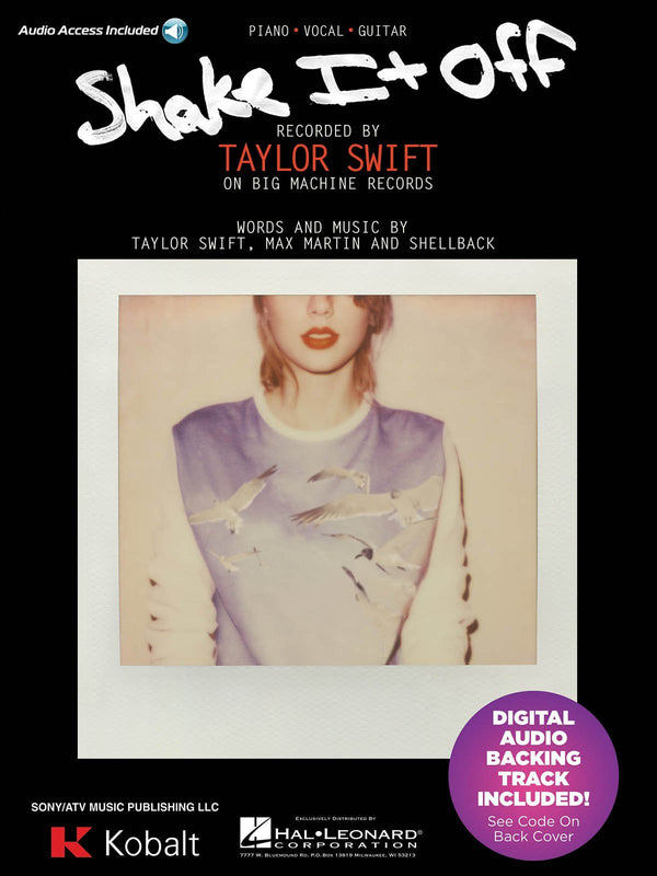 Taylor Swift: Shake It Off (Piano Vocal with Online Audio)