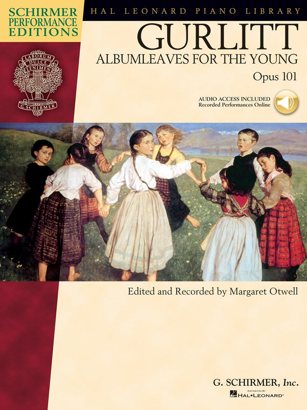 Gurlitt - Albumleaves for the Young, Opus 101