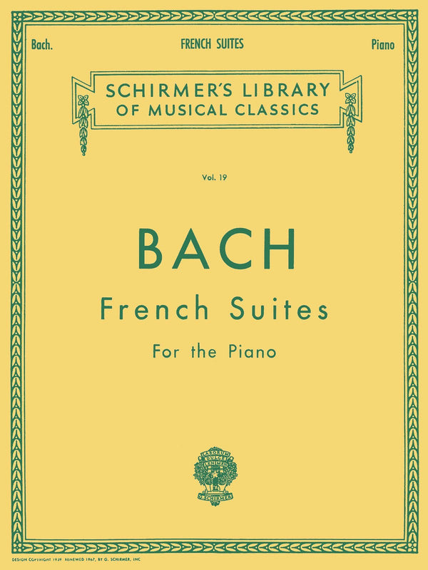J.S. Bach: French Suites (Piano Solo)