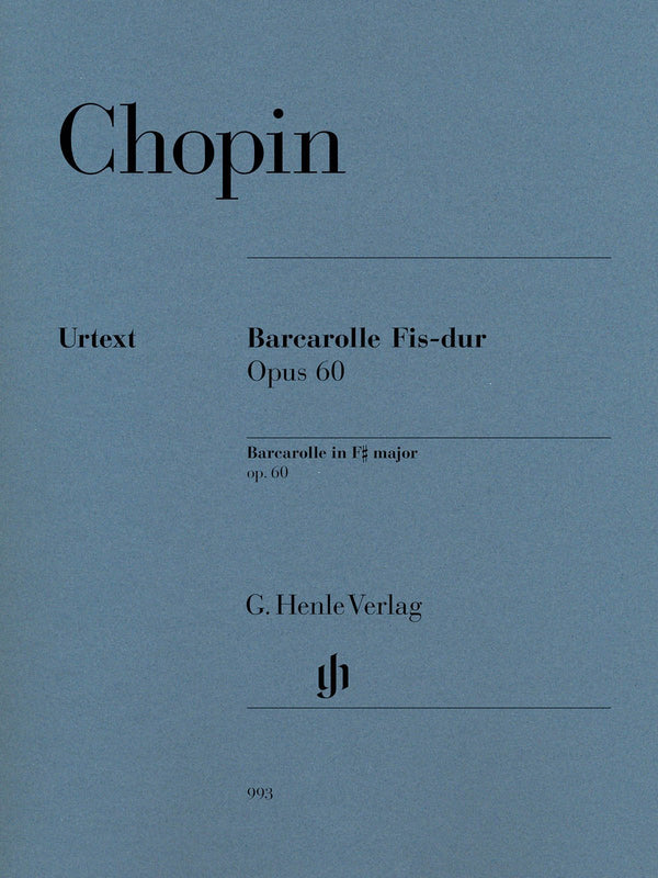 Frédéric Chopin - Barcarolle in F-sharp Major, Op. 60