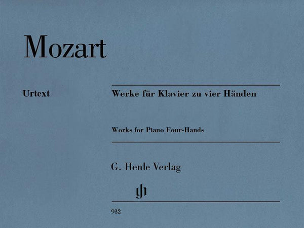 Mozart - Works for Piano Four-Hands