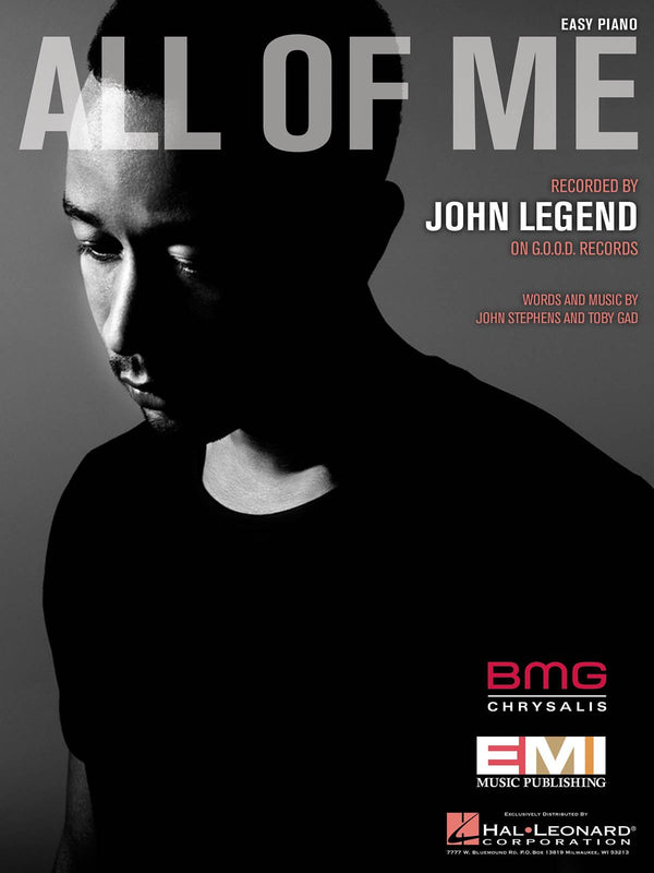 John Legend - All of Me (Easy Piano)