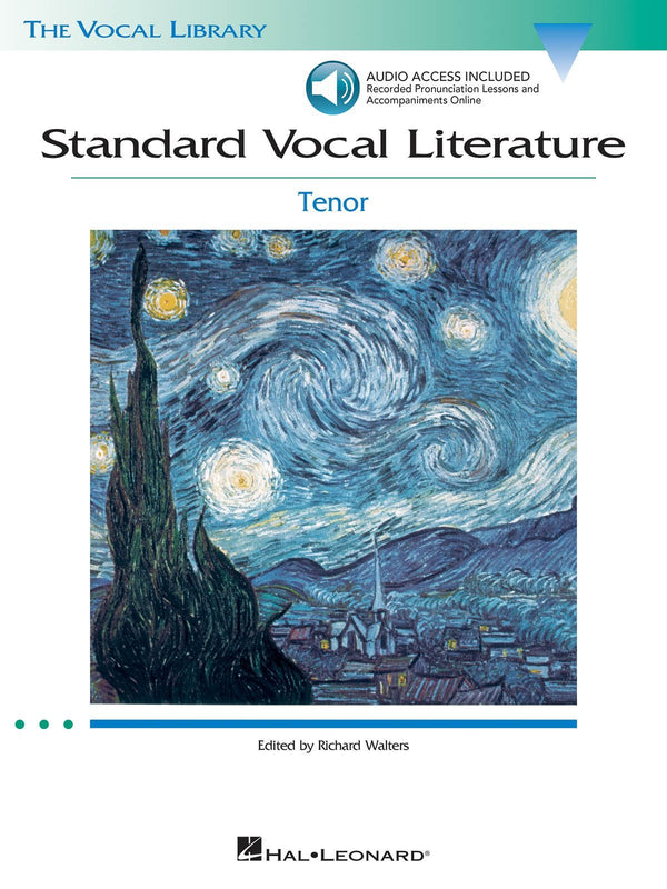 Standard Vocal Literature - An Introduction to Repertoire (Tenor)