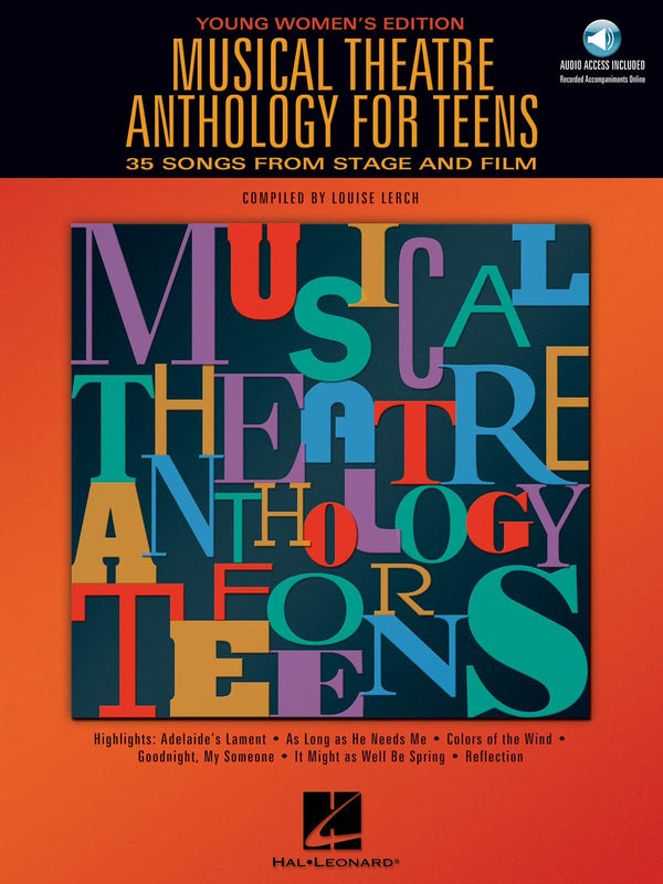 Musical Theatre Anthology for Teens (Young Women's Edition)