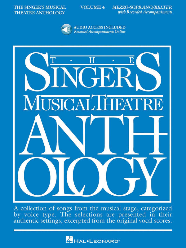 Singer's Musical Theatre Anthology - Volume 4 (Mezzo-Soprano)