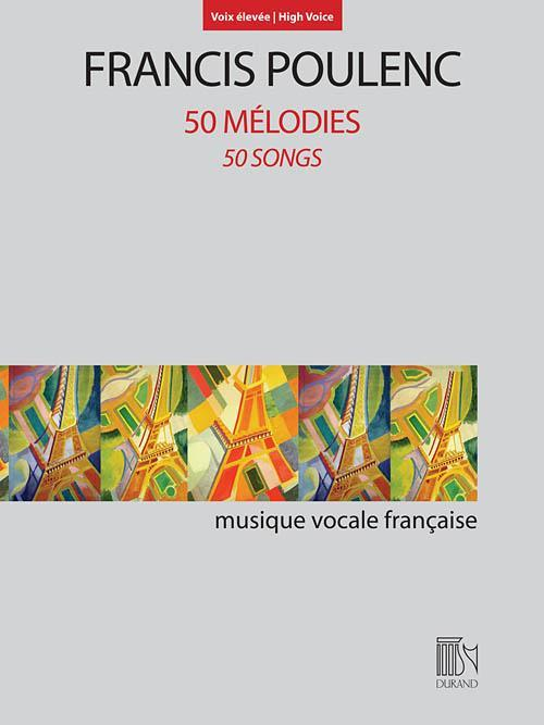 50 Mélodies (50 Songs) for High Voice and Piano