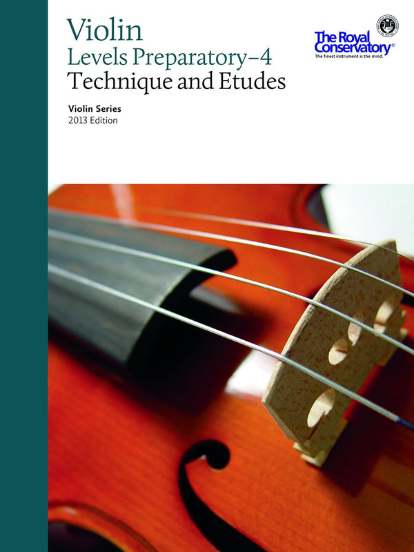 Violin Series, 2013 Edition - Technique & Etudes Preparatory - 4