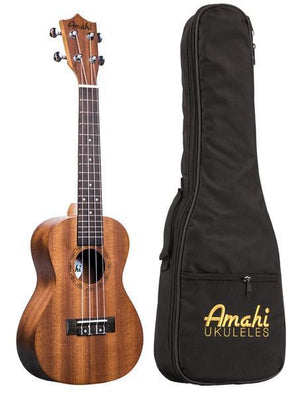 Amahi UK210C Ukulele Concert With Deluxe Bag