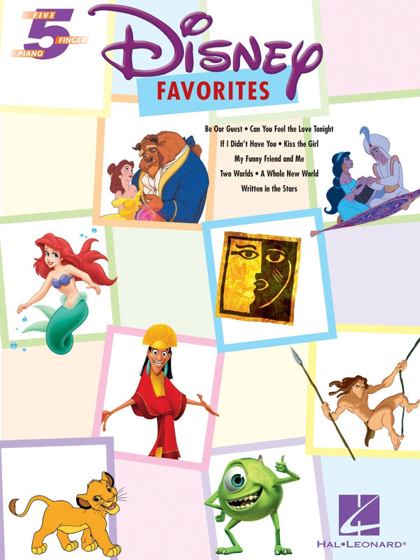 Disney Favorites (Five Finger Piano Songbook)