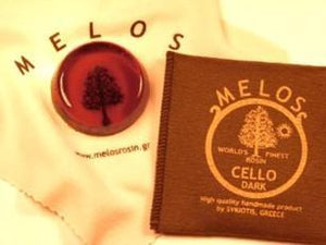 Melos Cello Rosin Dark