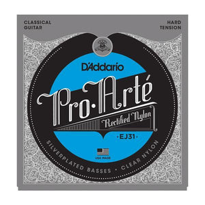 D'Addario EJ31 Pro-Art̩ Rectified Trebles, Hard Tension