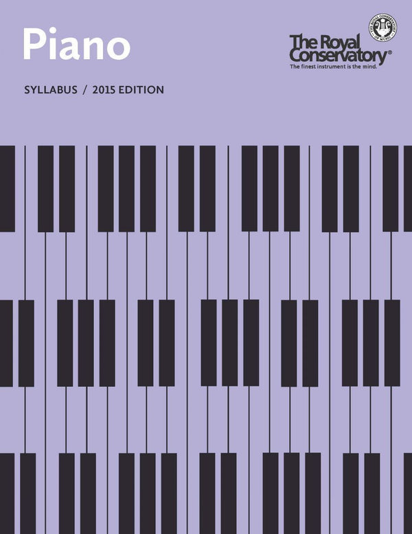 Piano Syllabus, 2015 Edition