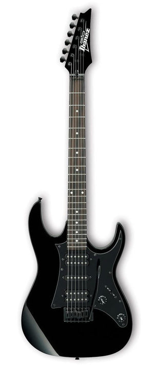 Ibanez GRX55B-BKN Solid Body Electric Guitar - Black Night
