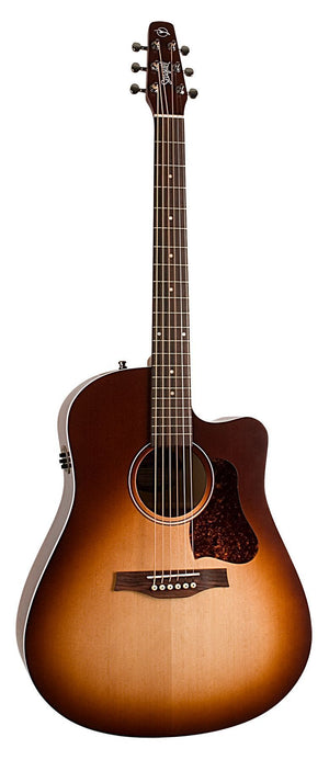 Seagull Entourage Autumn Burst CW QIT RH Electric Acoustic Guitar
