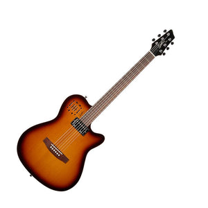 Godin A6 Ultra Cognac Burst HG Acoustic Electric Guitar