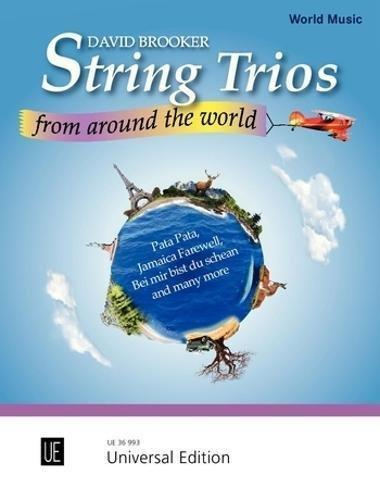 String Trios from Around the World: For Violin, Viola and Cello
