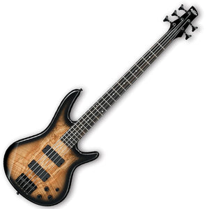 Ibanez GSR205SM-NGT Gio Series 5 String Bass in Natural Gray Burst Finish