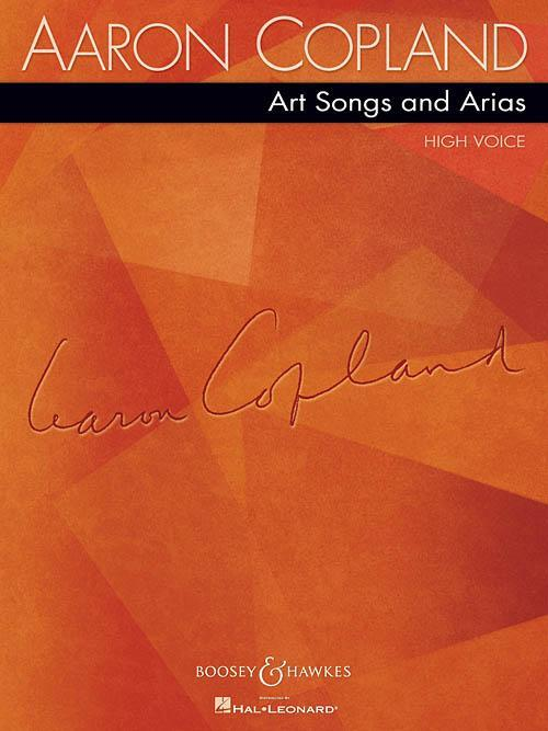 Aaron Copland: Art Songs and Arias - High Voice