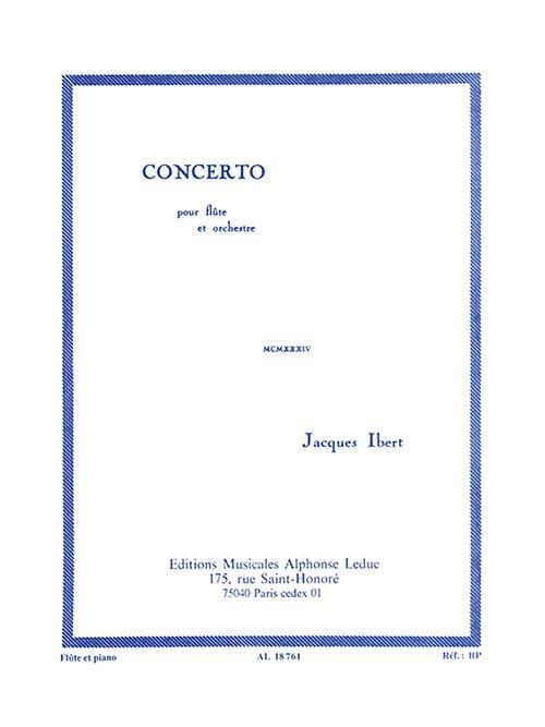 Concerto for Flute and Piano