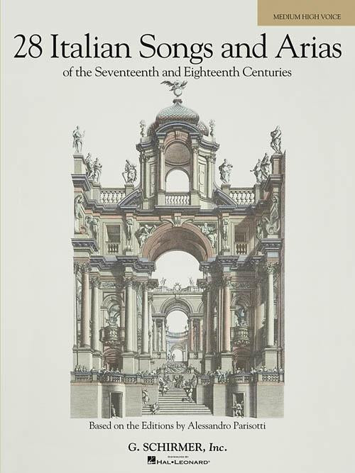 28 Italian Songs & Arias of the 17th & 18th Centuries (Medium High, Book Only)