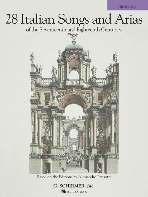 28 Italian Songs & Arias of the 17th & 18th Centuries (High Voice, Book only)