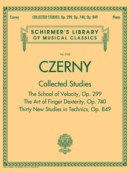 Czerny: Collected Studies - Op. 299, Op. 740, Op. 849