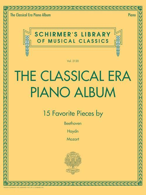 The Classical Era Piano Album