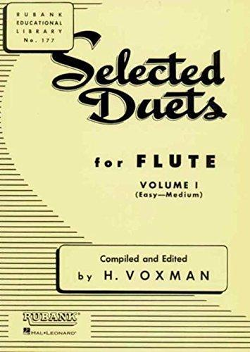 Selected Duets for Flute - Volume 1 - Easy to Medium