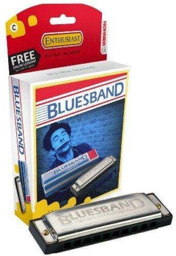 Hohner Blues Band Harmonica in C - Single