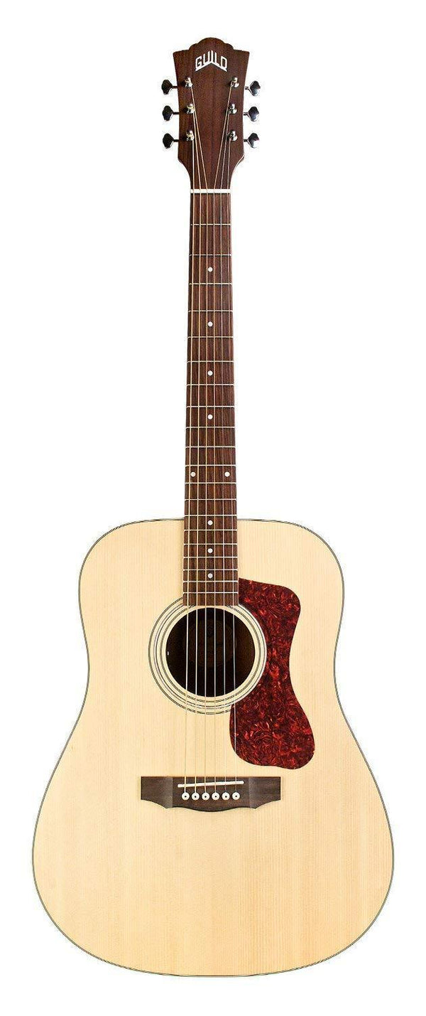 Guild D-240E Westerly Collection Acoustic-Electric Guitar, Natural