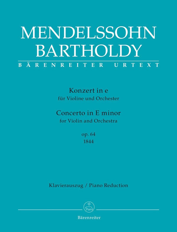 Mendelssohn: Violin Concerto in E Minor, Op. 64, 1st Version (1844)
