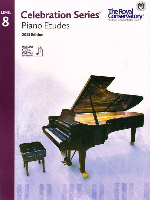 Celebration Series Piano Etudes 2015 Edition - Level 8