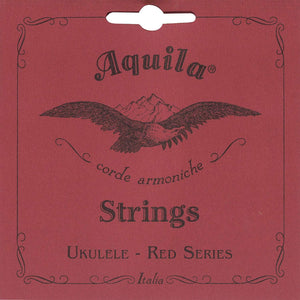 Aquila 86U Red Series Nylgut Concert Ukulele Strings (Low G)
