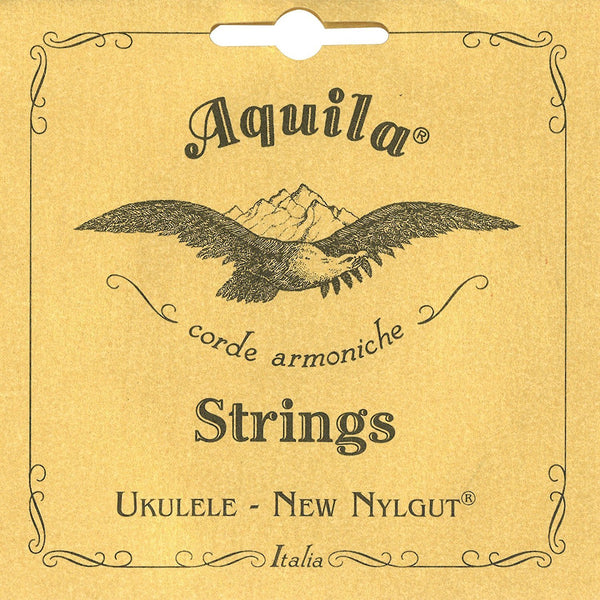 Aquila 7U New Nylgut Concert Ukulele String Set (High G)