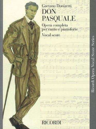 Don Pasquale (Vocal Score)