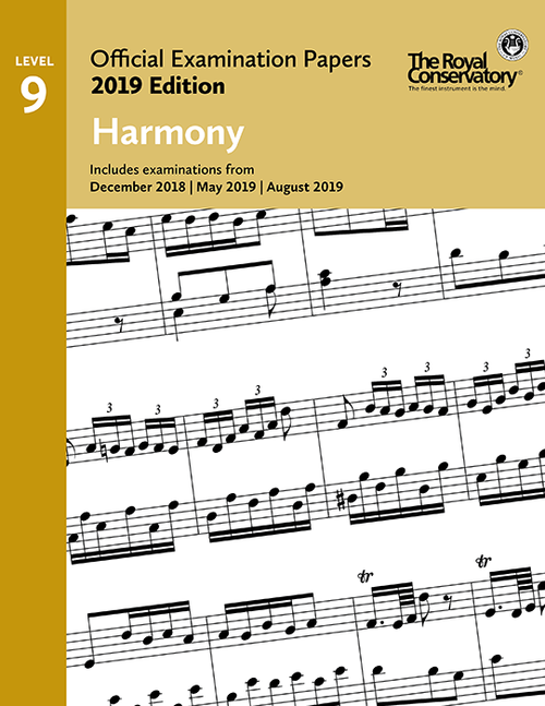 RCM 2019 Official Examination Papers: Level 9 Harmony