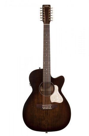 Art and Lutherie Legacy Concert Hall 12 Bourbon Burst CW QIT
