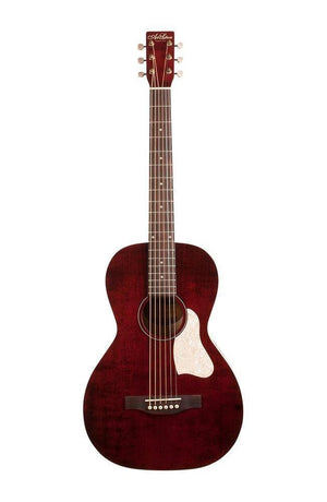 Art & Lutherie Roadhouse Parlor Acoustic Guitar - Tennessee Red