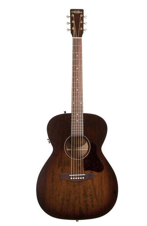 Art & Lutherie Concert Hall Legacy Acoustic-Electric Guitar – Bourbon Burst