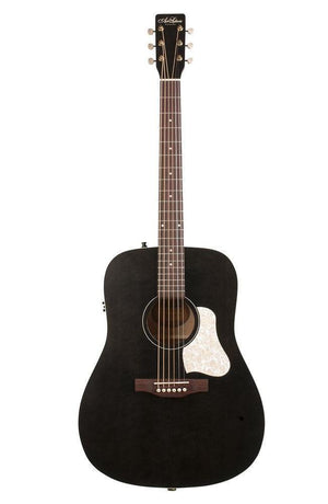 Art & Lutherie Americana Dreadnought Acoustic-Electric Guitar - Faded Black