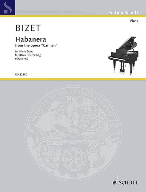 HABAÑERA from the Opera Carmen for Piano Duet
