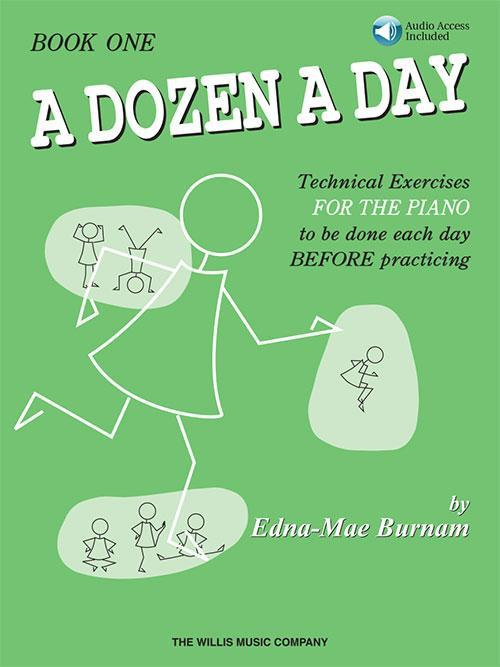 A Dozen a Day Book 1 - Book/Audio