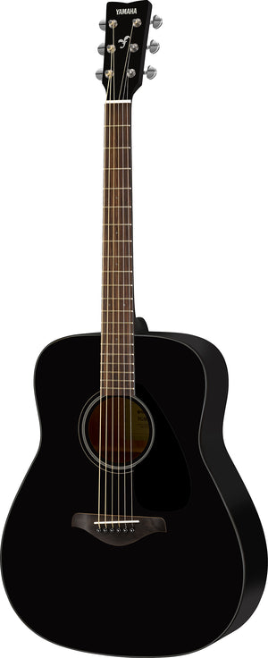 Yamaha FG800 Solid Spruce Acoustic Guitar - Black