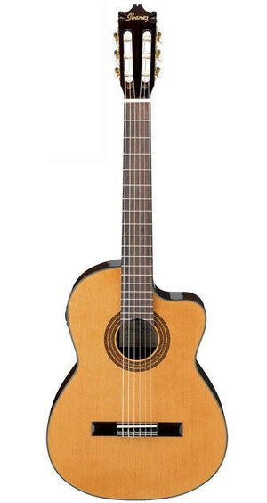 Ibanez GA Series GA6CE Classical Cutaway Acoustic-Electric Guitar - Natural