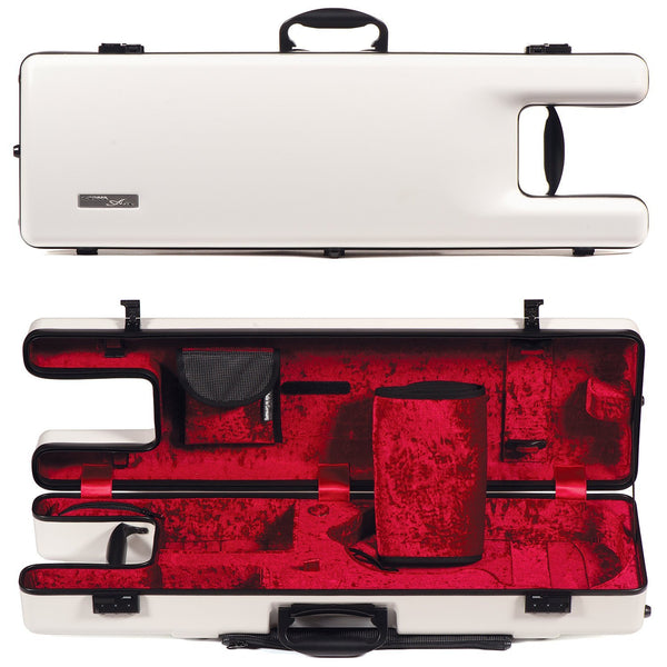 Gewa Air Ergo Oblong 4/4 Violin Case - White