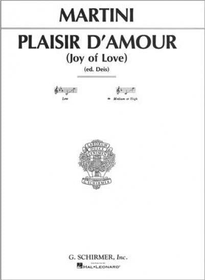 Piacer d'amor (The Joys of Love)