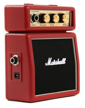 Marshall MS-2R 1-watt Battery-powered Micro Amp - Red