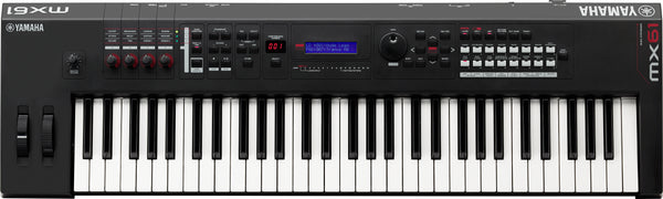 Yamaha MX61 Synthesizer - Black